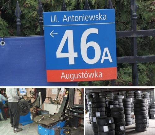 Opony Mokotów Wulkanizacja Ul Antoniewska 46a Siekierki Warszawa